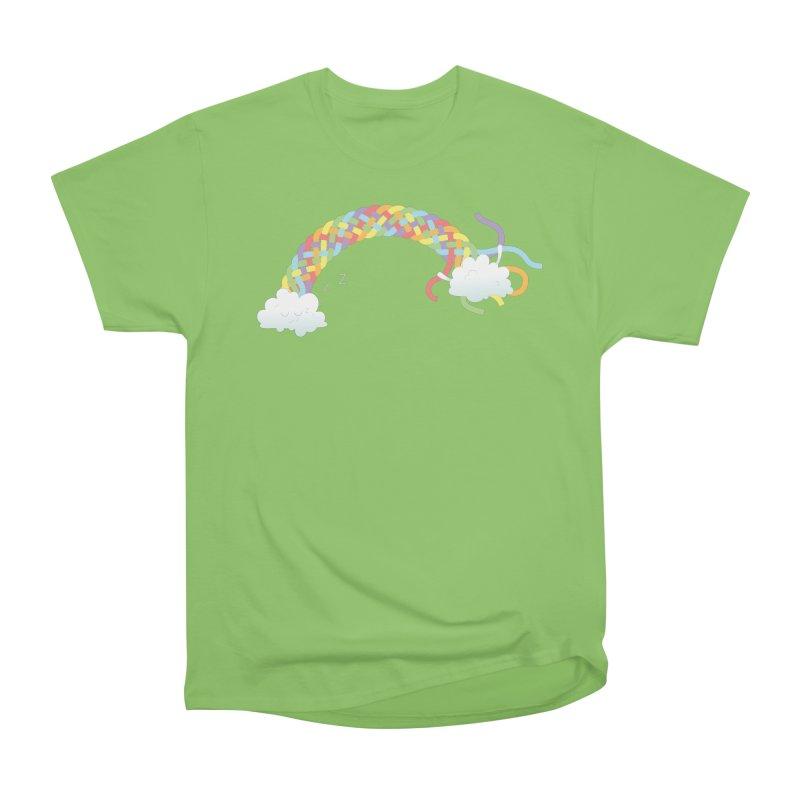 Cheeky Cloud Men's Heavyweight T-Shirt by Cumulo 7