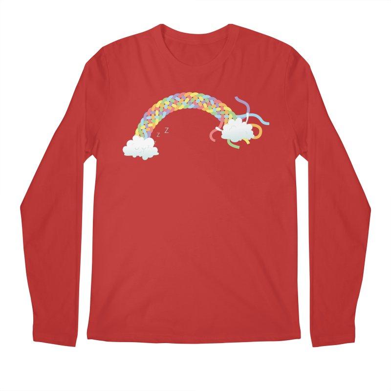 Cheeky Cloud Men's Regular Longsleeve T-Shirt by Cumulo 7