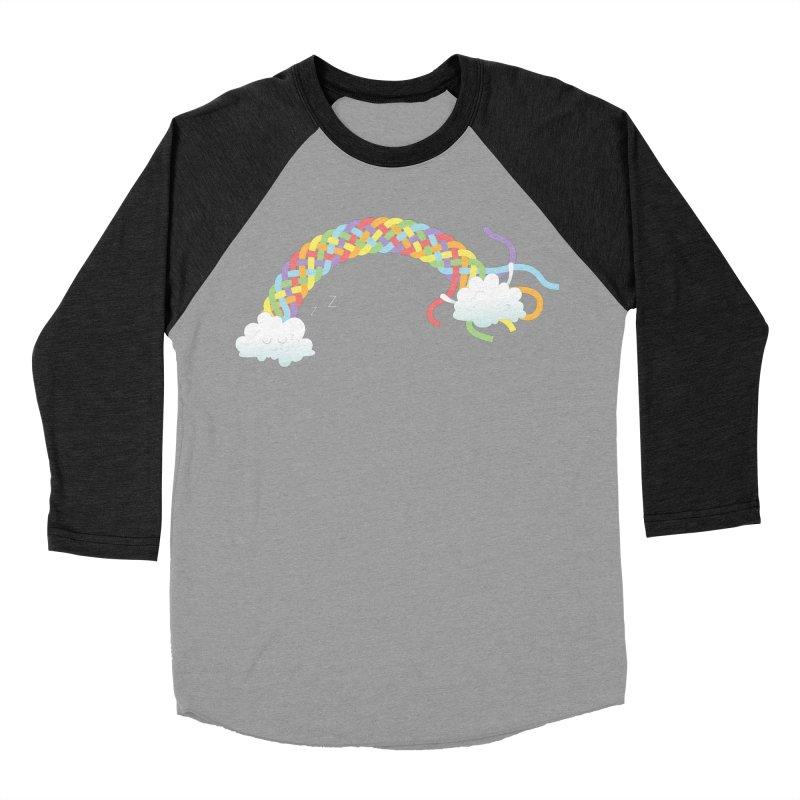 Cheeky Cloud Women's Baseball Triblend Longsleeve T-Shirt by Cumulo 7