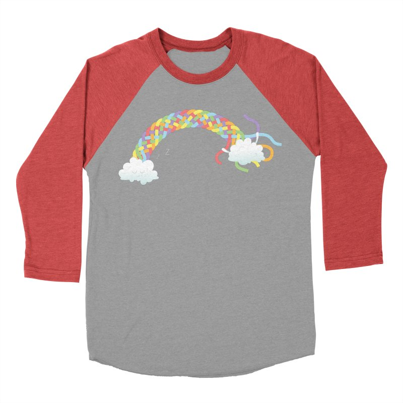 Cheeky Cloud Men's Baseball Triblend Longsleeve T-Shirt by Cumulo 7