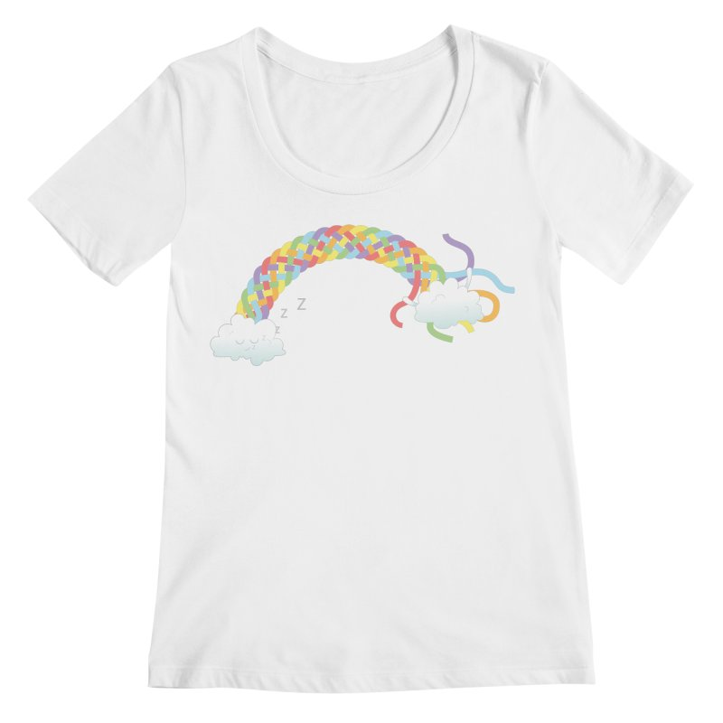 Cheeky Cloud Women's Regular Scoop Neck by cumulo7's Artist Shop