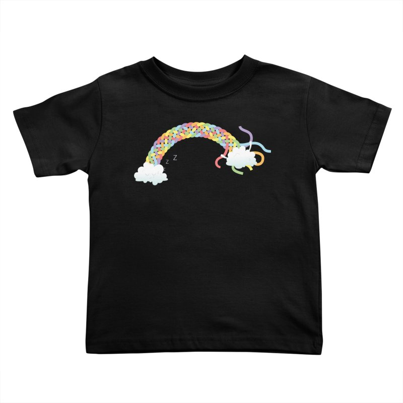 Cheeky Cloud Kids Toddler T-Shirt by Cumulo 7