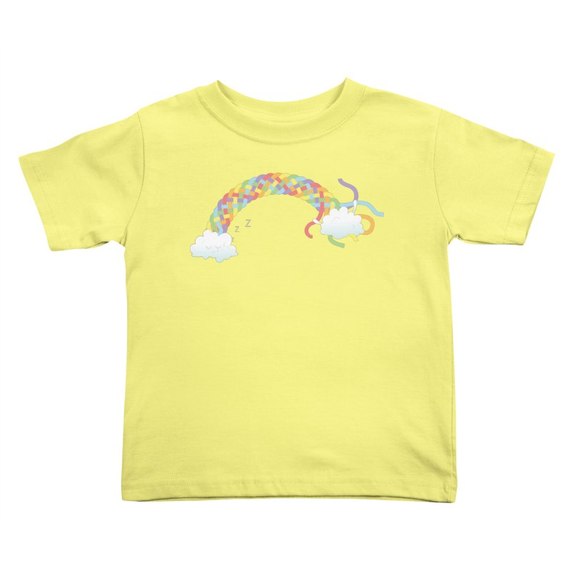 Cheeky Cloud Kids Toddler T-Shirt by cumulo7's Artist Shop