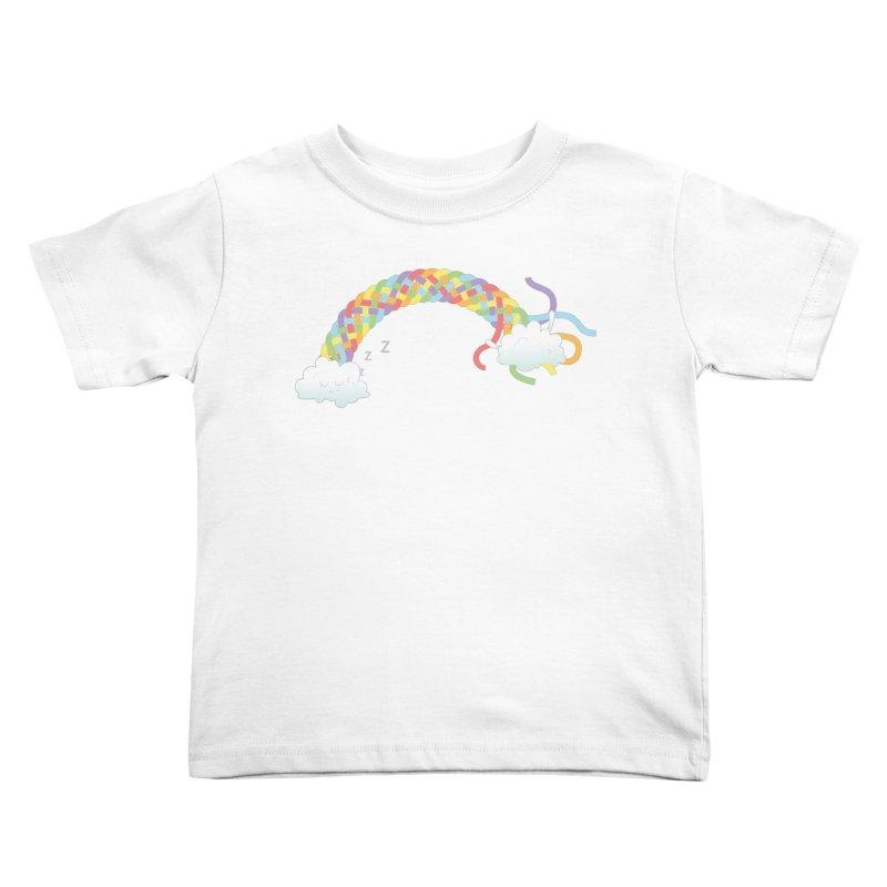 Cheeky Cloud Kids Toddler T-Shirt by cumulo7's Artist Shop