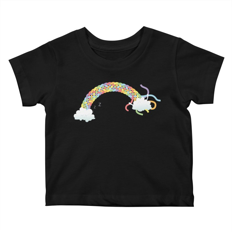 Cheeky Cloud Kids Baby T-Shirt by Cumulo 7
