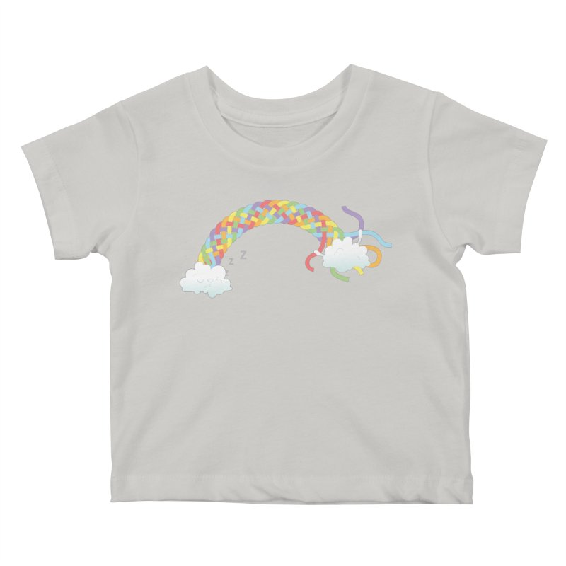 Cheeky Cloud Kids Baby T-Shirt by cumulo7's Artist Shop
