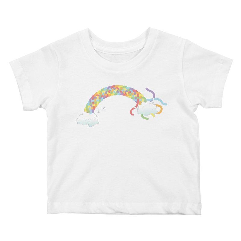 Cheeky Cloud Kids Baby T-Shirt by cumulo7's Artist Shop