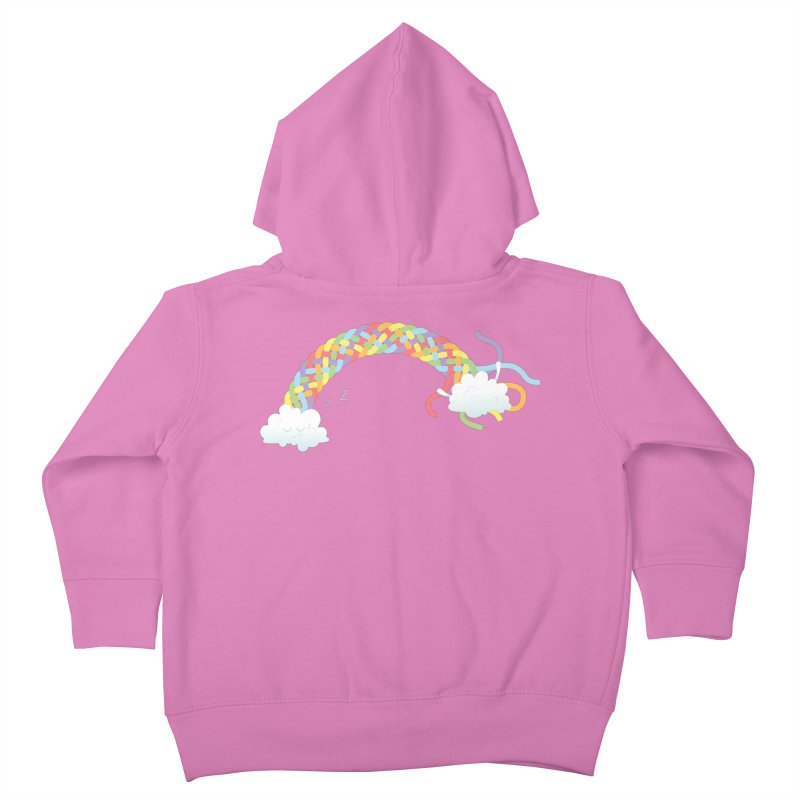 Cheeky Cloud Kids Toddler Zip-Up Hoody by cumulo7's Artist Shop