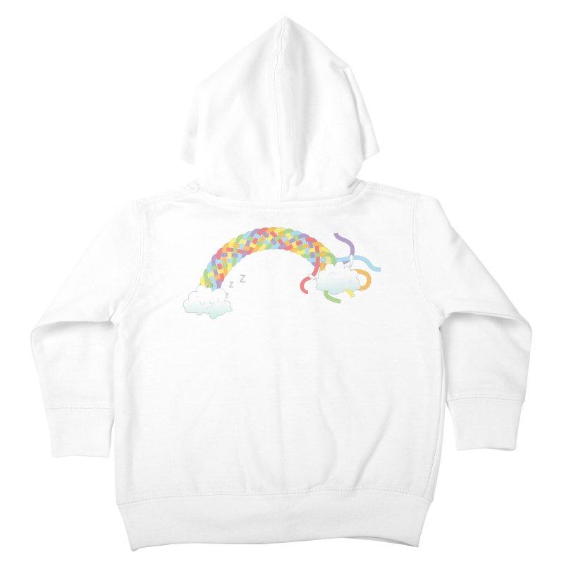 Cheeky Cloud Kids Toddler Zip-Up Hoody by cumulo7's Artist Shop