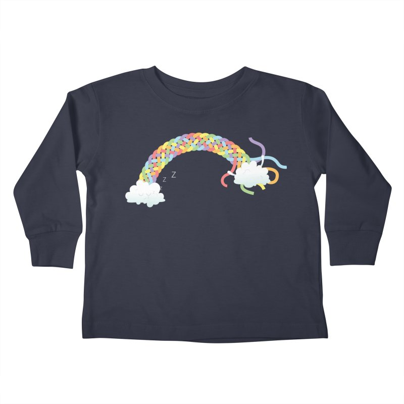 Cheeky Cloud Kids Toddler Longsleeve T-Shirt by Cumulo 7