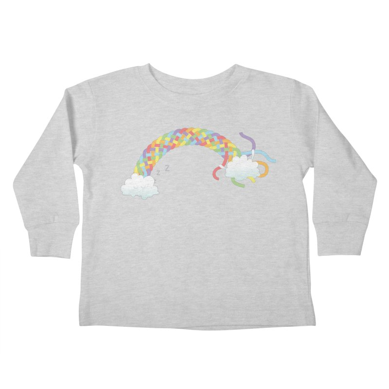 Cheeky Cloud Kids Toddler Longsleeve T-Shirt by cumulo7's Artist Shop