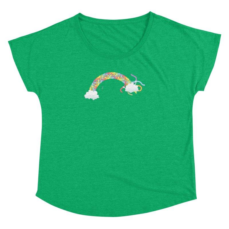 Cheeky Cloud Women's Dolman Scoop Neck by cumulo7's Artist Shop