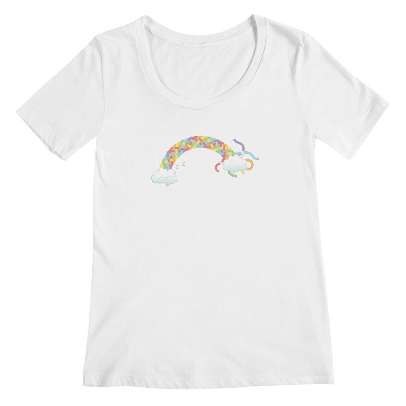 Cheeky Cloud Women's Scoopneck by cumulo7's Artist Shop