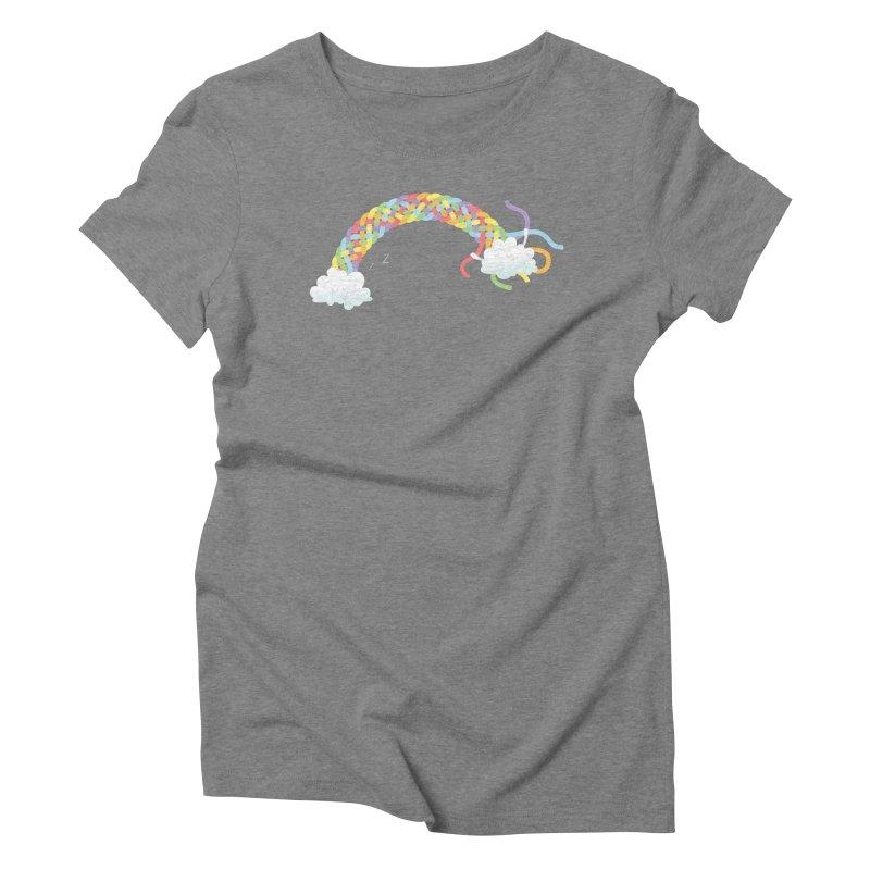 Cheeky Cloud Women's Triblend T-Shirt by cumulo7's Artist Shop