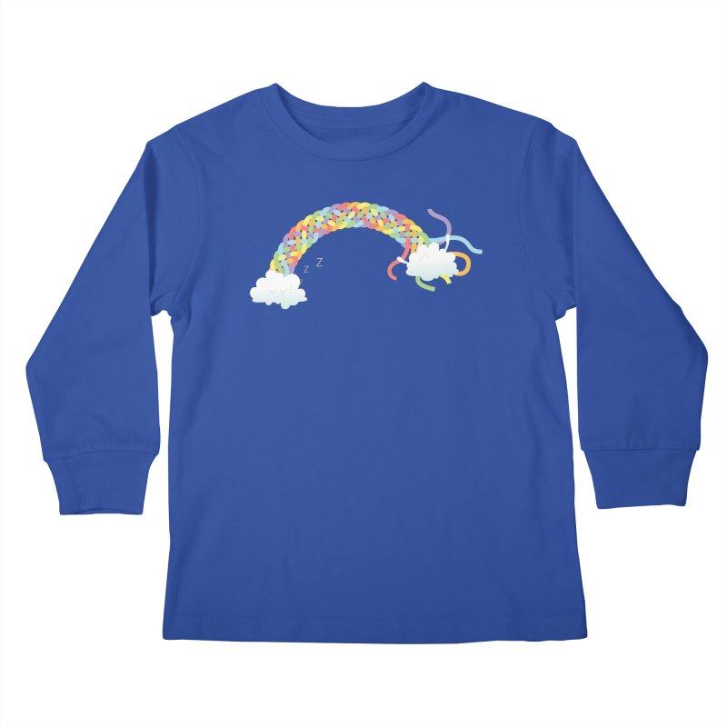 Cheeky Cloud Kids Longsleeve T-Shirt by Cumulo 7