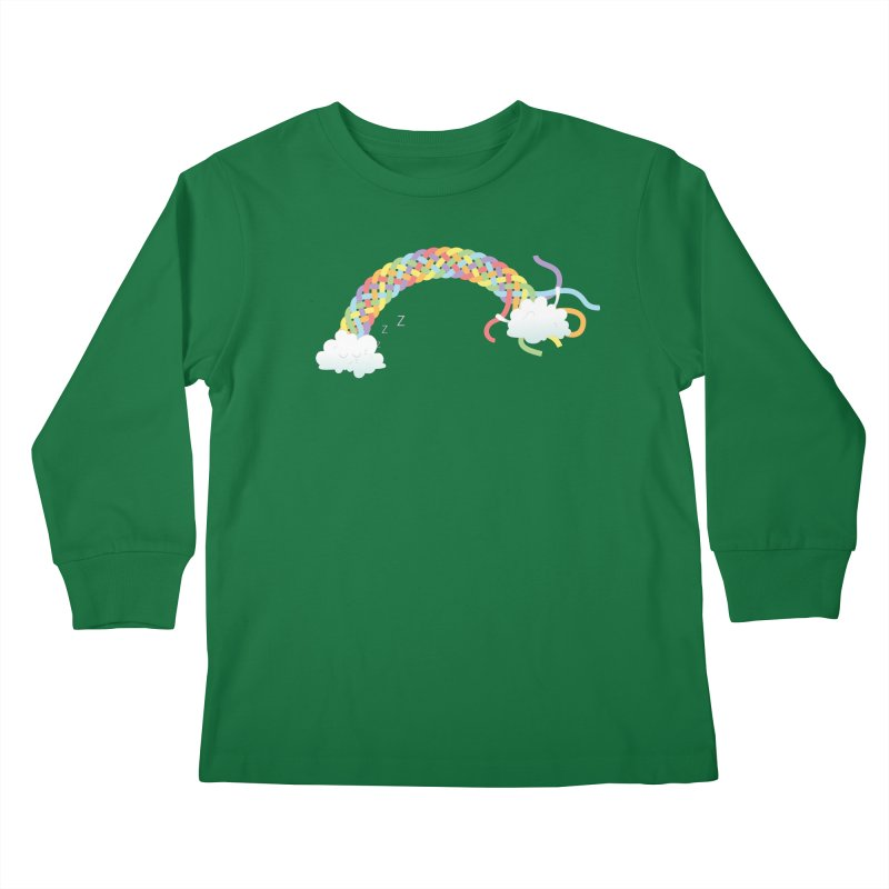 Cheeky Cloud Kids Longsleeve T-Shirt by cumulo7's Artist Shop