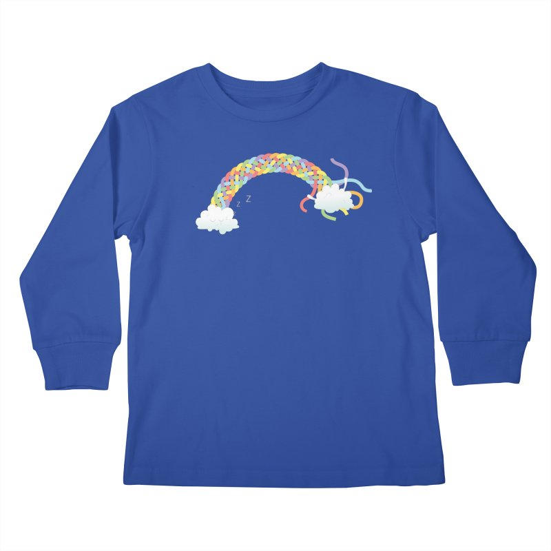 Cheeky Cloud Kids Longsleeve T-Shirt by cumulo7's Artist Shop