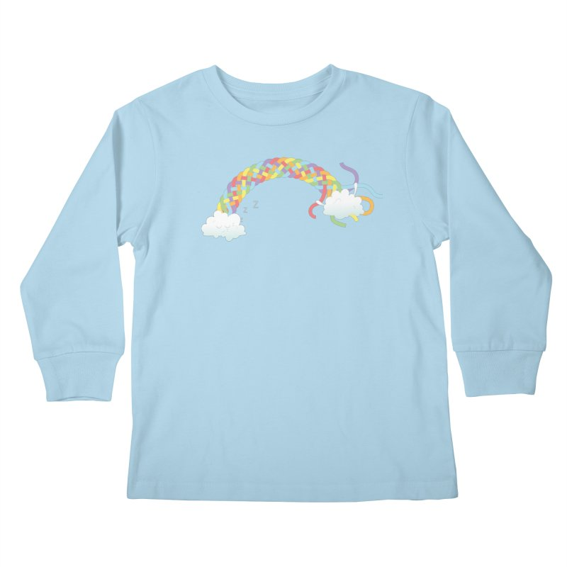 Cheeky Cloud Kids Longsleeve T-Shirt by Cumulo 7