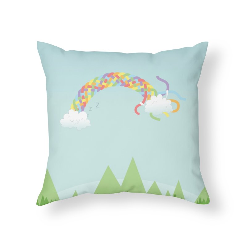 Cheeky Cloud Home Throw Pillow by Cumulo 7