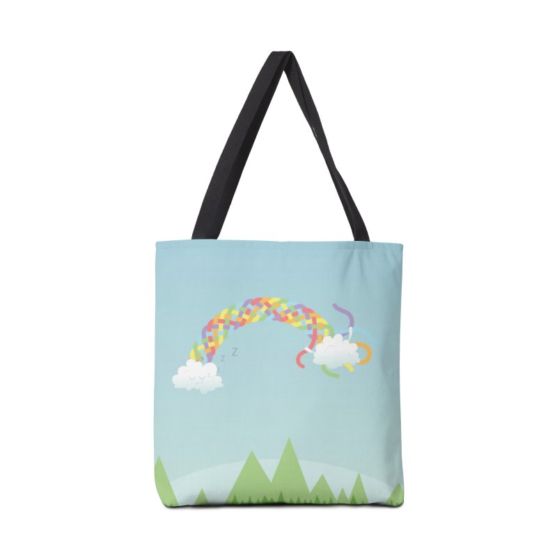 Cheeky Cloud Accessories Tote Bag Bag by Cumulo 7