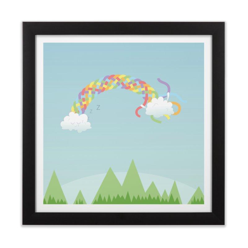 Cheeky Cloud Home Framed Fine Art Print by cumulo7's Artist Shop