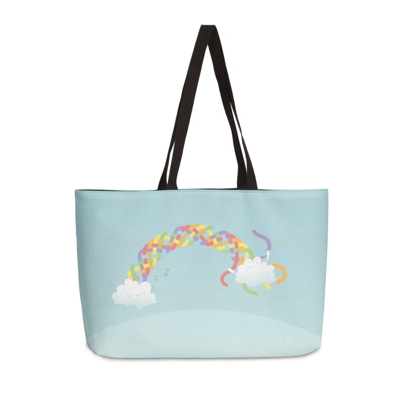 Cheeky Cloud Accessories Weekender Bag Bag by Cumulo 7