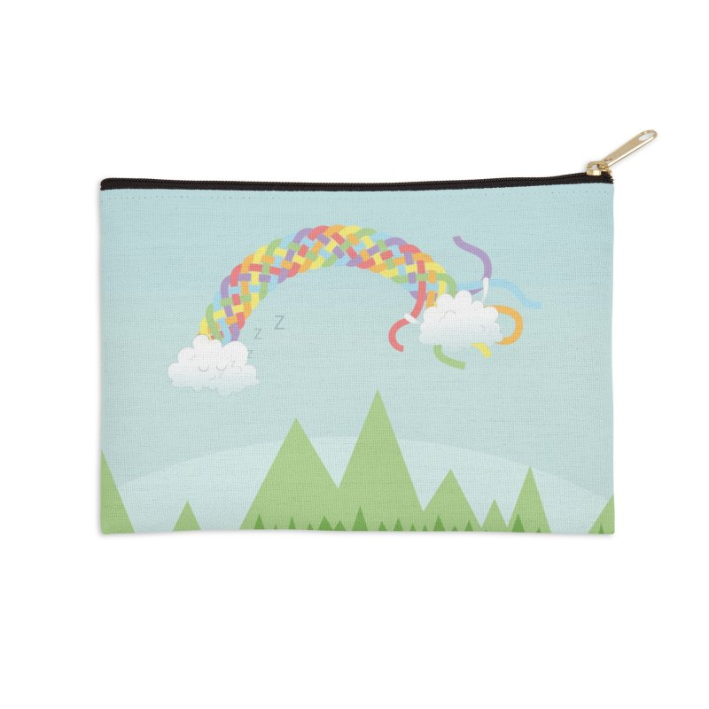 Cheeky Cloud Accessories Zip Pouch by cumulo7's Artist Shop