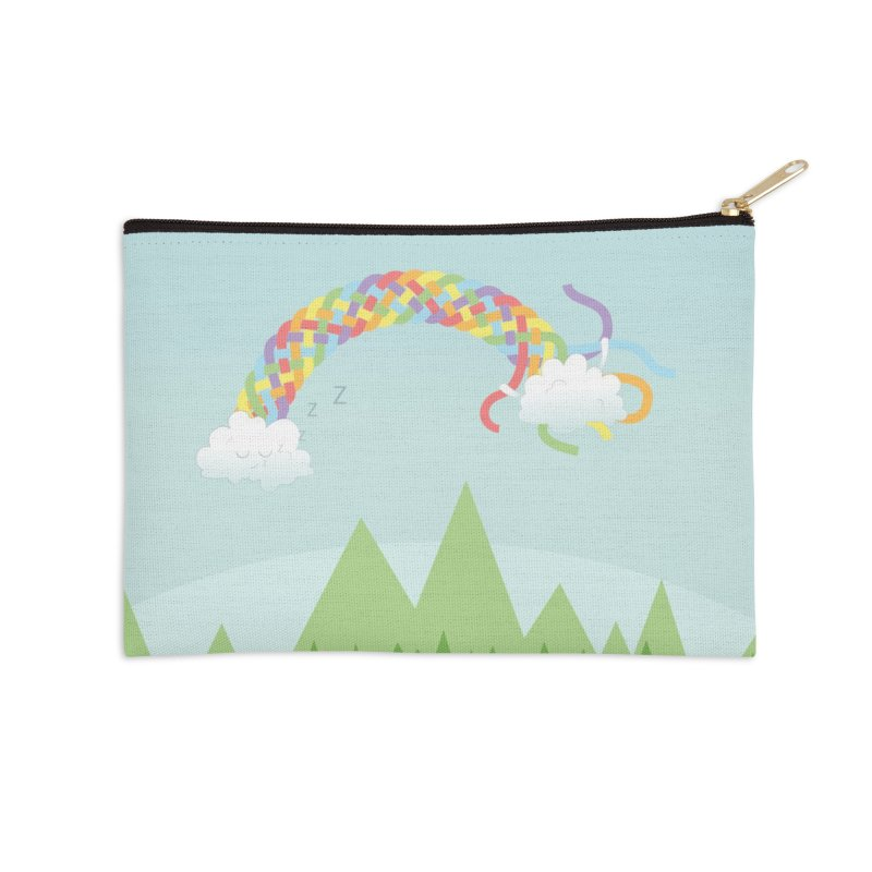 Cheeky Cloud Accessories Zip Pouch by Cumulo 7