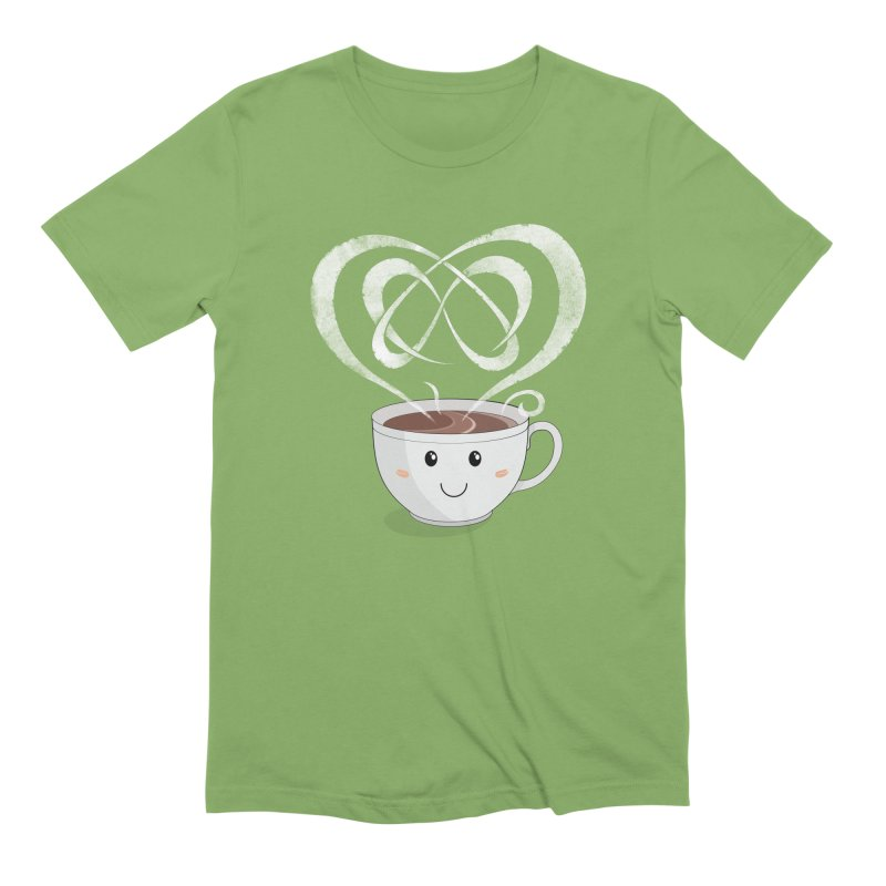 Coffee Lover Men's Extra Soft T-Shirt by Cumulo 7