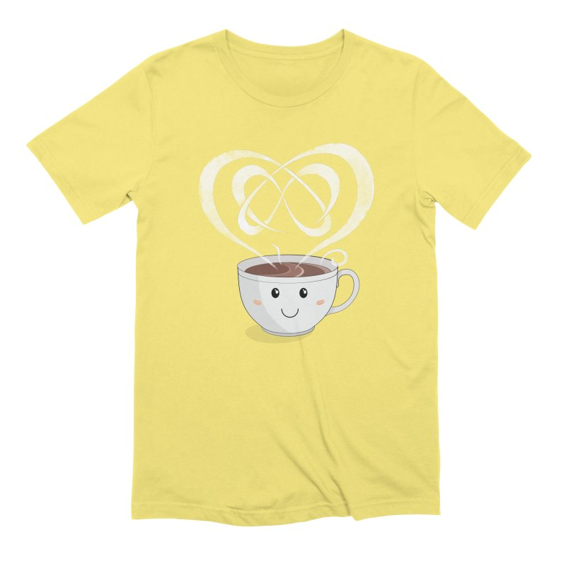 Coffee Lover Men's T-Shirt by Cumulo 7