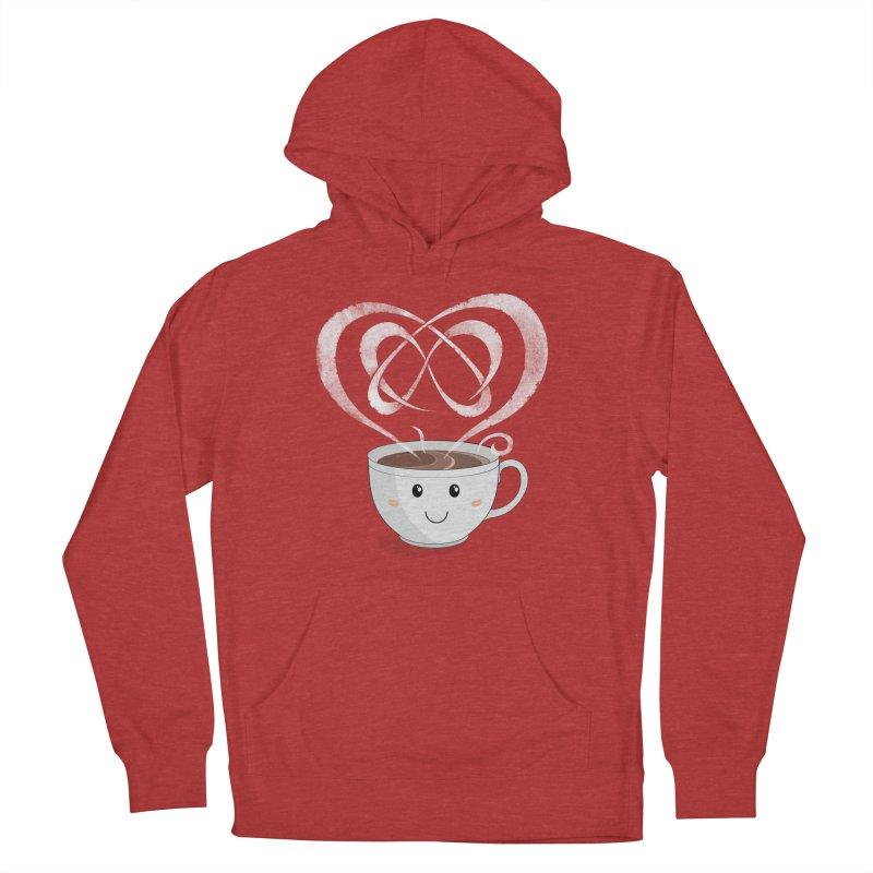 Coffee Lover Women's Pullover Hoody by cumulo7's Artist Shop