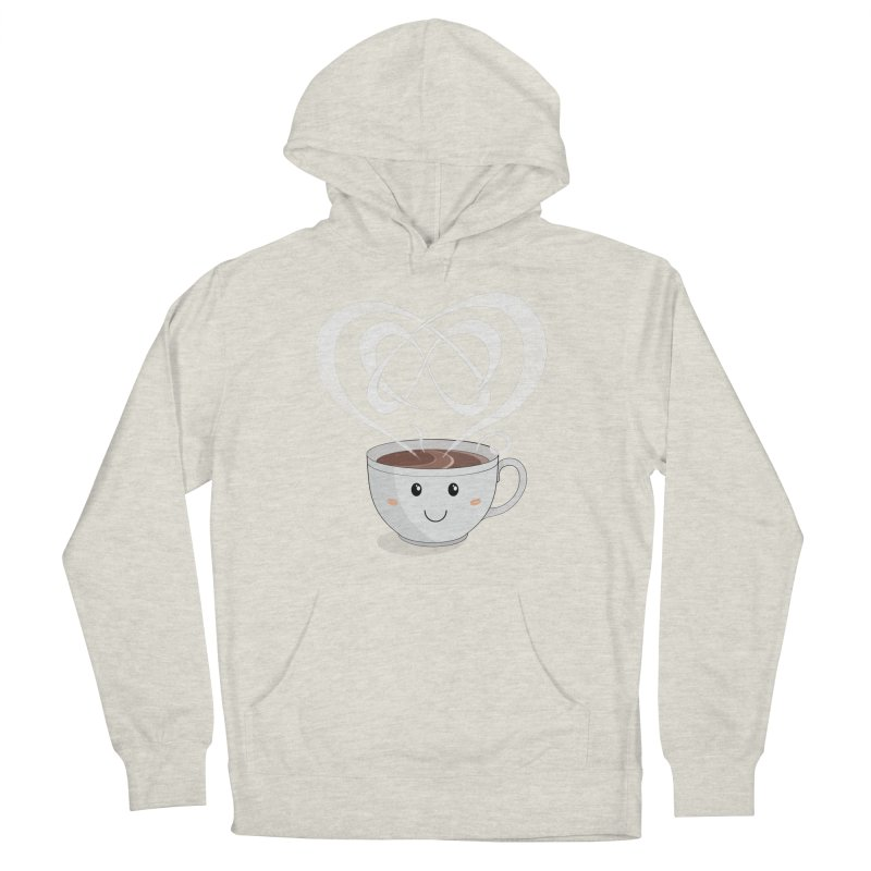 Coffee Lover Women's Pullover Hoody by cumulo7's Artist Shop