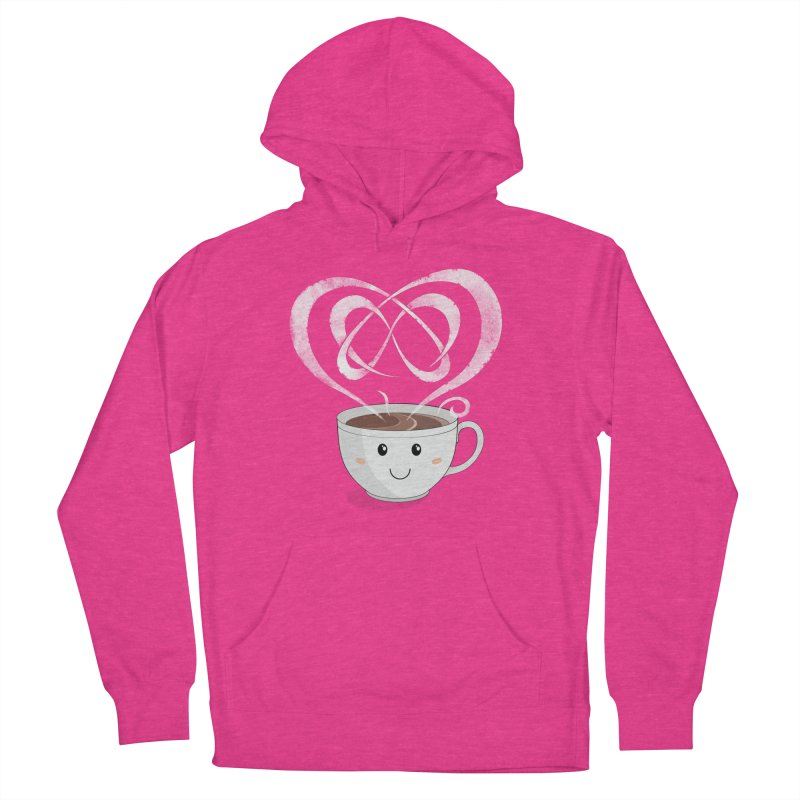 Coffee Lover Women's French Terry Pullover Hoody by cumulo7's Artist Shop