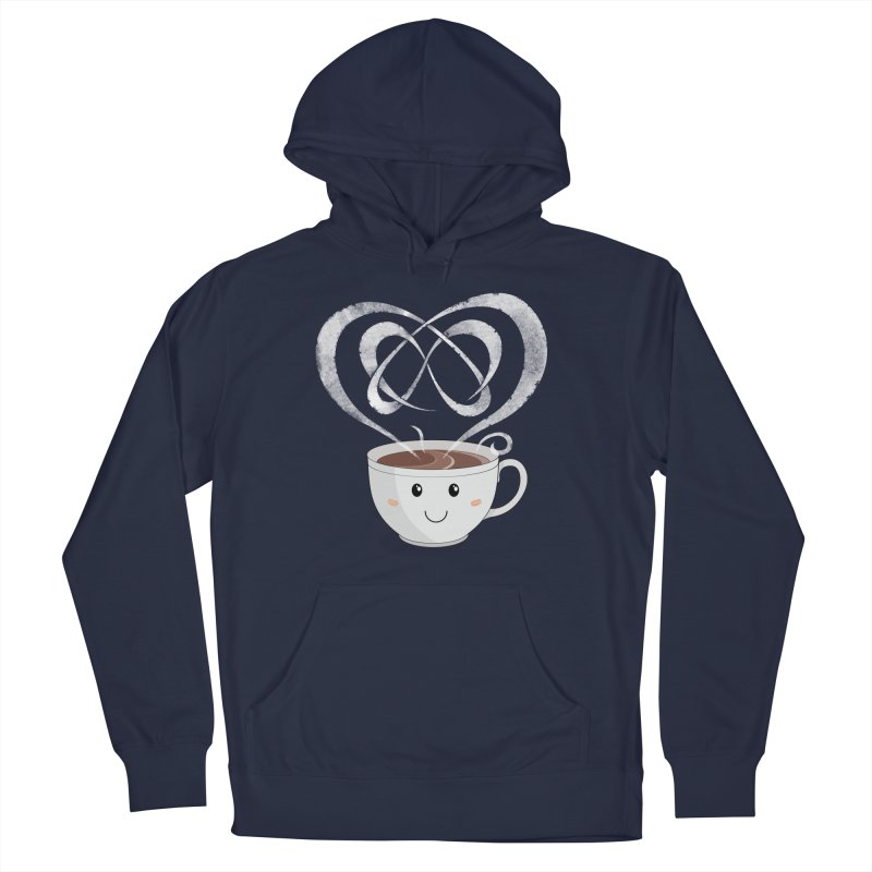 Coffee Lover Women's French Terry Pullover Hoody by Cumulo 7