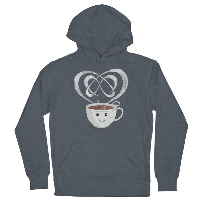 Coffee Lover Men's French Terry Pullover Hoody by Cumulo 7
