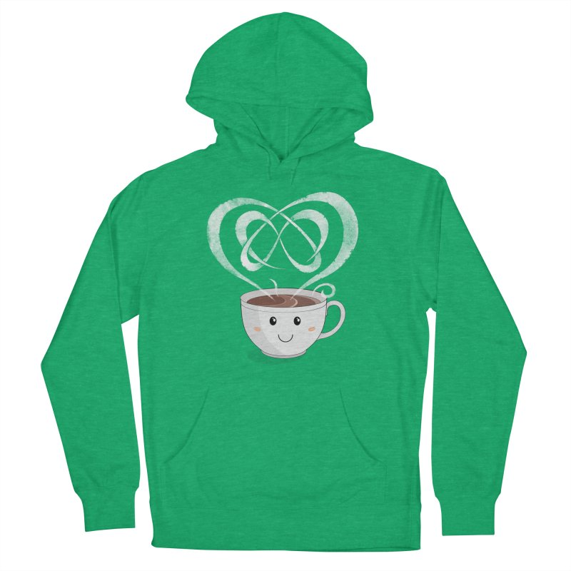 Coffee Lover Men's French Terry Pullover Hoody by cumulo7's Artist Shop