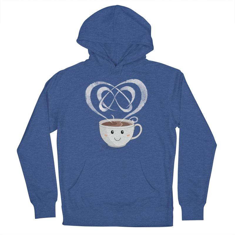 Coffee Lover Men's Pullover Hoody by cumulo7's Artist Shop
