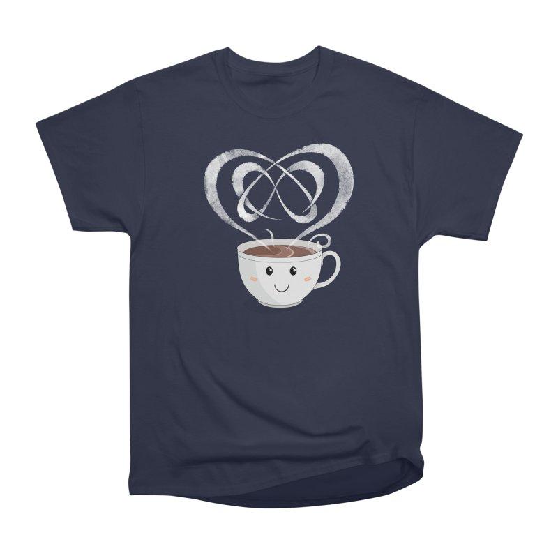 Coffee Lover Women's Heavyweight Unisex T-Shirt by Cumulo 7