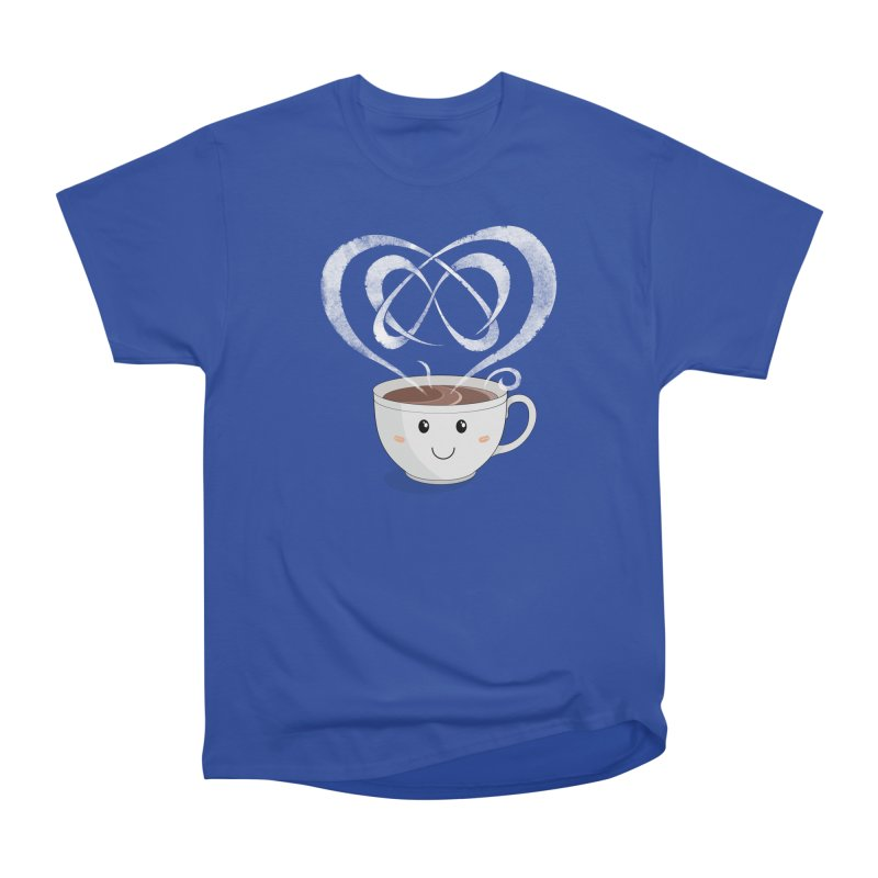 Coffee Lover Women's Heavyweight Unisex T-Shirt by Cumulo 7