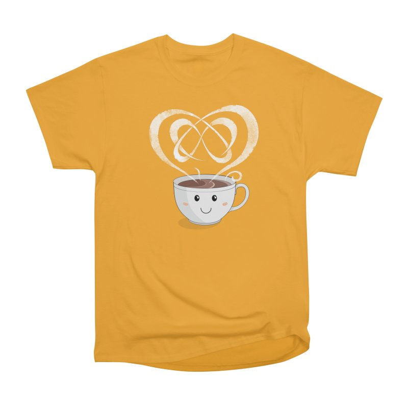 Coffee Lover Men's Classic T-Shirt by cumulo7's Artist Shop