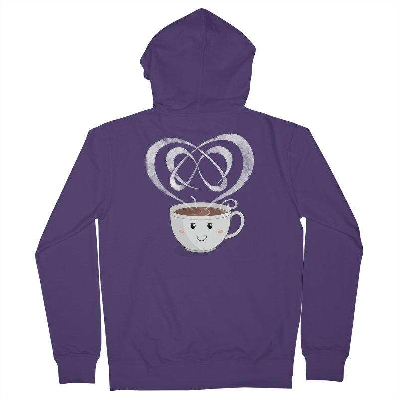 Coffee Lover Women's Zip-Up Hoody by cumulo7's Artist Shop
