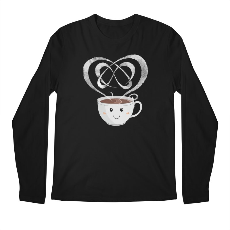 Coffee Lover Men's Regular Longsleeve T-Shirt by Cumulo 7
