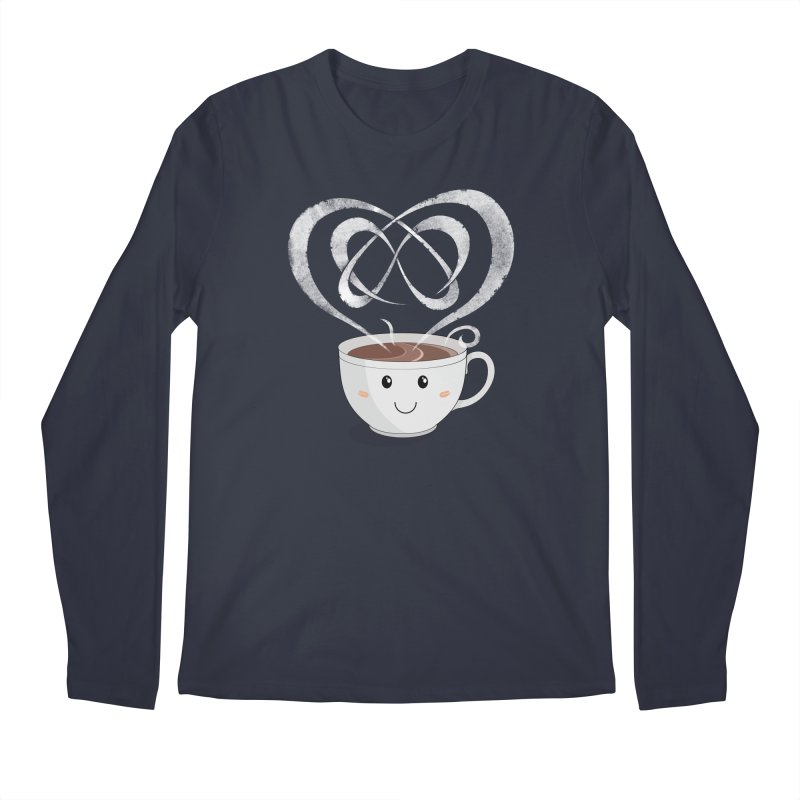 Coffee Lover Men's Longsleeve T-Shirt by cumulo7's Artist Shop