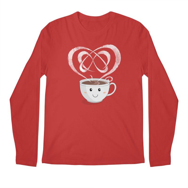 Coffee Lover Men's Regular Longsleeve T-Shirt by Cumulo 7