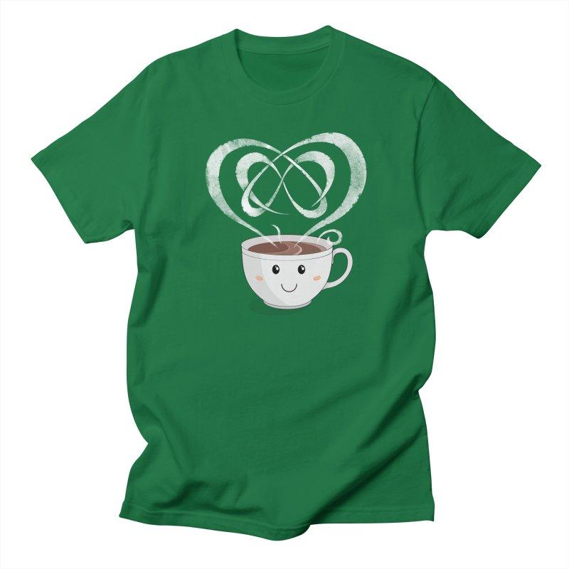 Coffee Lover Women's Regular Unisex T-Shirt by Cumulo 7
