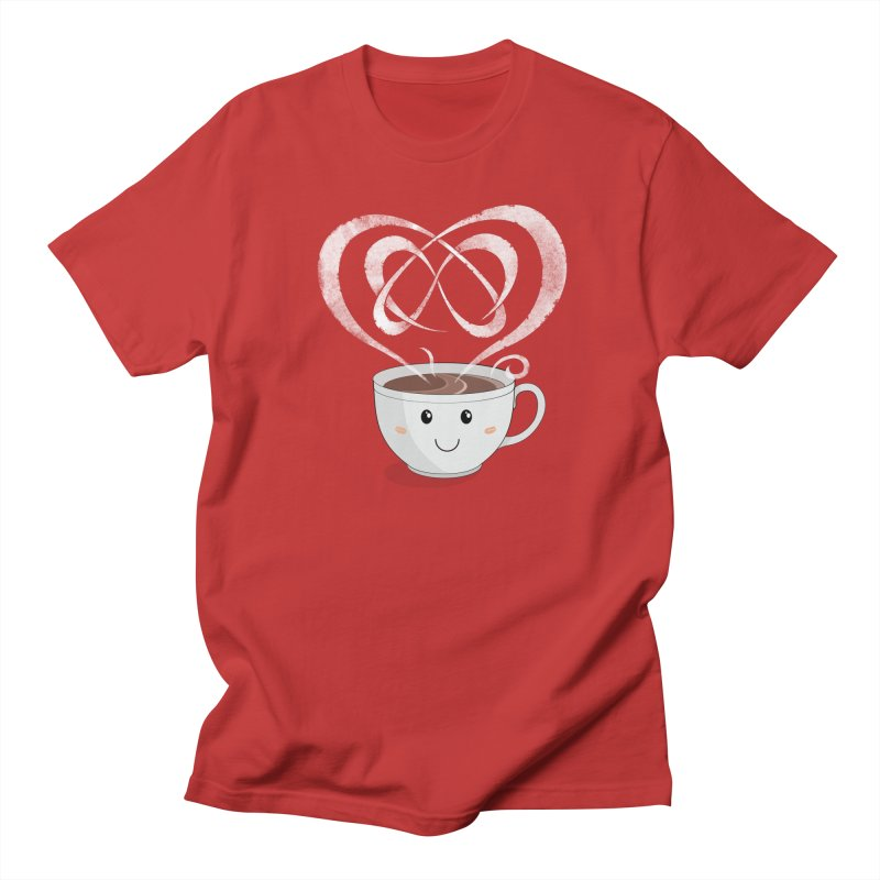 Coffee Lover Men's T-Shirt by cumulo7's Artist Shop