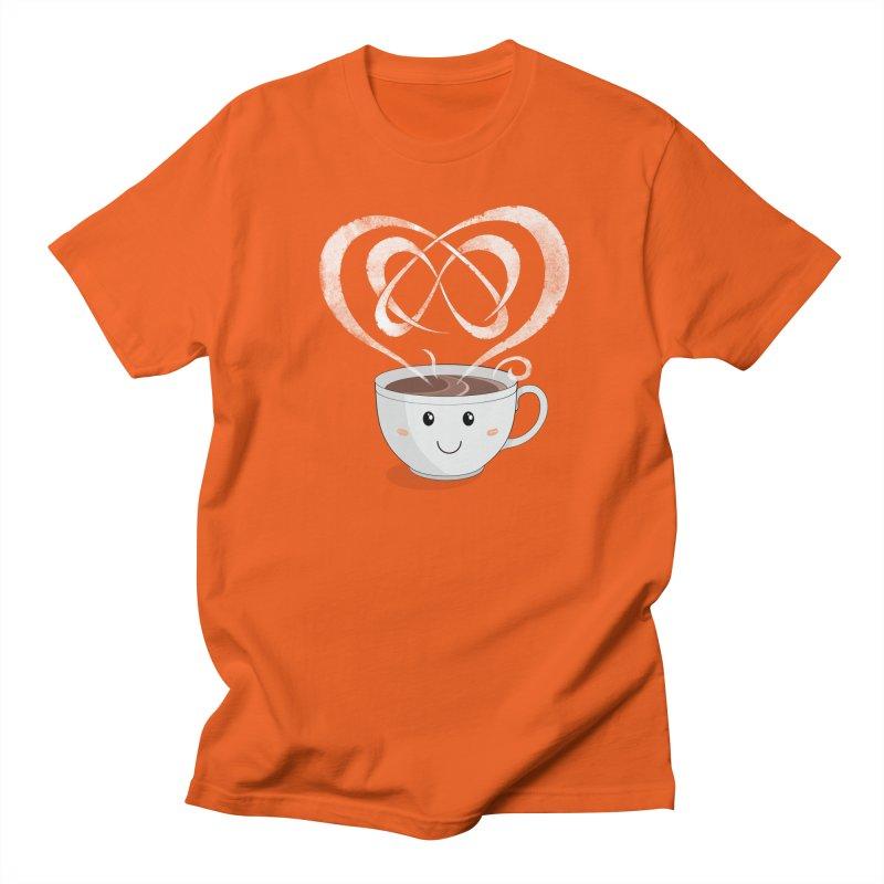 Coffee Lover Men's Regular T-Shirt by Cumulo 7