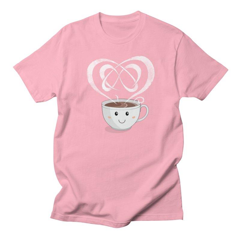 Coffee Lover Women's Regular Unisex T-Shirt by cumulo7's Artist Shop