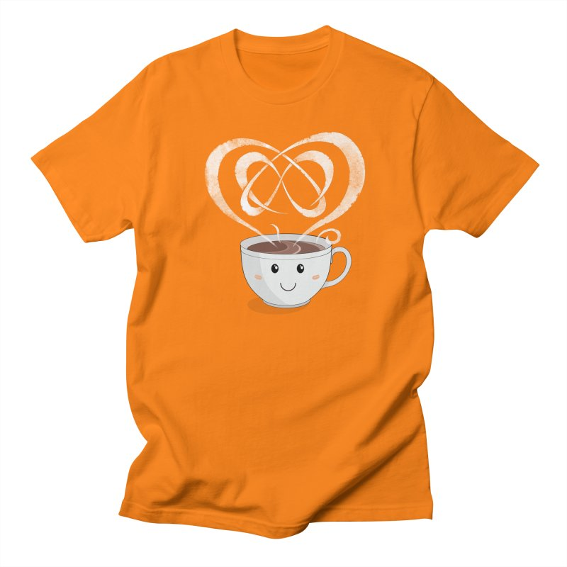 Coffee Lover Men's Regular T-Shirt by Cumulo 7