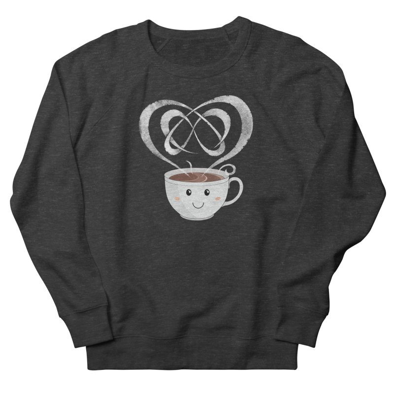 Coffee Lover Women's French Terry Sweatshirt by cumulo7's Artist Shop